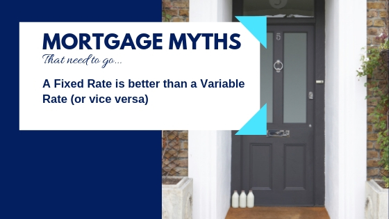 Mortgage Myths - Fixed Rate vs Variable Rate